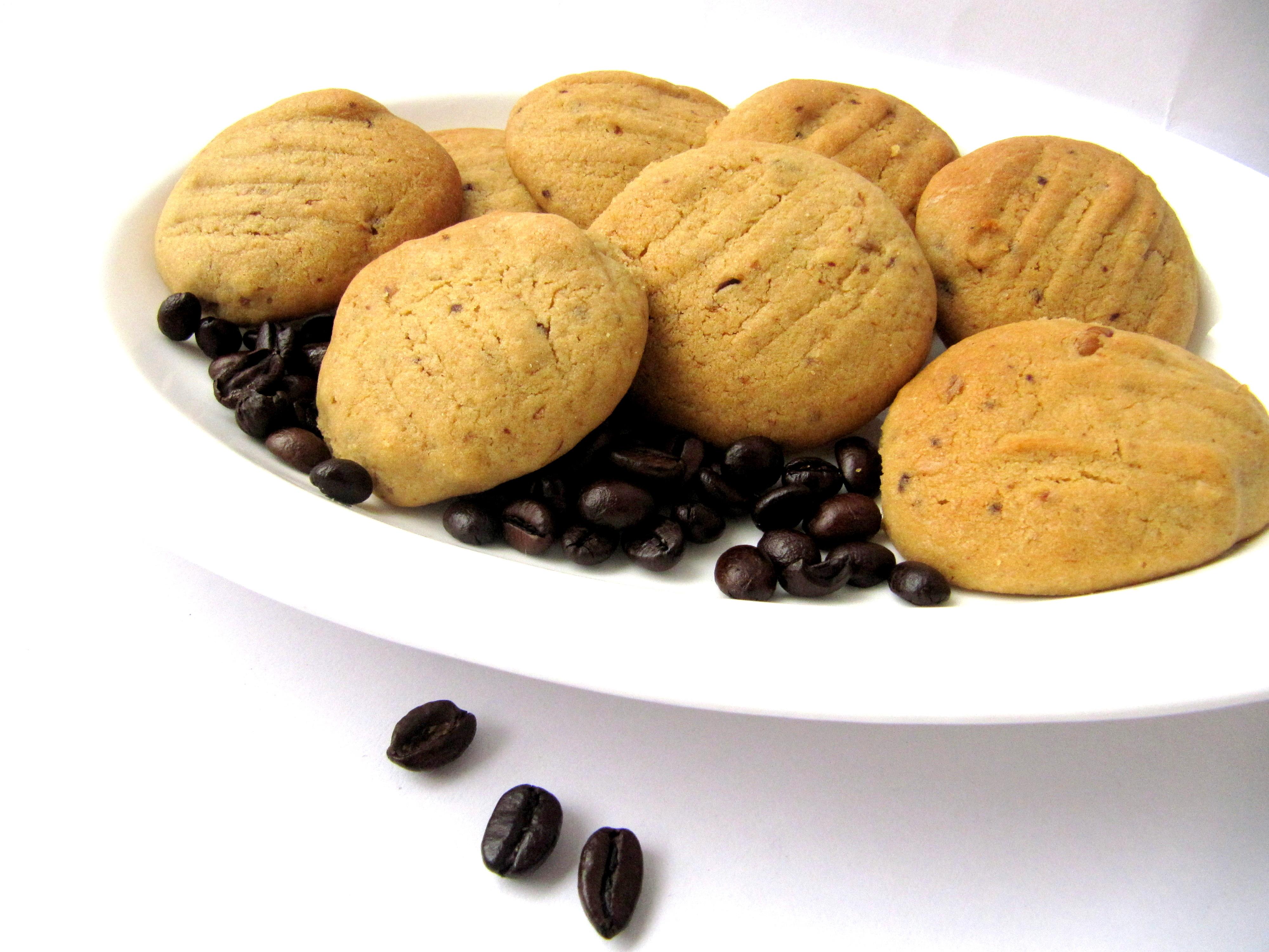 Coffee Walnut Cookies